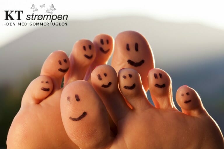 Dine fødder skal bære dig gennem livet