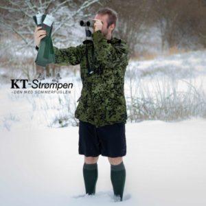 BE WARM TILBUD: 2 par varme og holdbare uld-knæstrømper til mænd