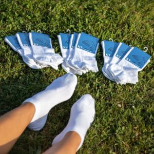 Køb 10 par lækre sommer-footies til damer i højeste kvalitet - Spar 25%!